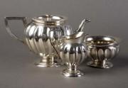 Set pentru cafea argintat #98