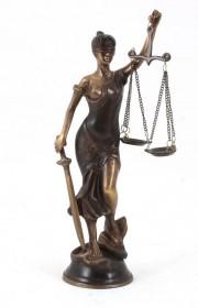 Statueta bronz Justiția #171209