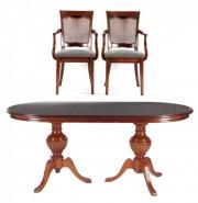 Masa ovala si 2 scaune #181224