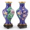 2 Vaze Cloisonne #181548