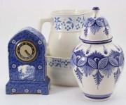 Vase ceramica si ceas de masa #189090