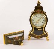 Ceas consola din lemn #99