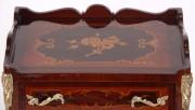 Dulapior clasic cu 3 sertare si ornamente din bronz #117