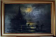 """Tablou """"Pescari la tarm"""" #150"""