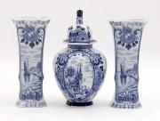 Set trei vaze Delft 1900 #290