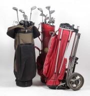 Trusă de golf cu cărucior #343